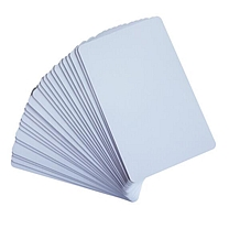 国产 无芯片PVC白卡 300张/包 适用于证卡打印机