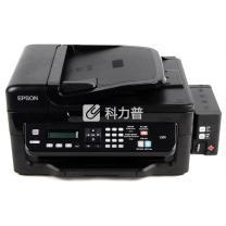 爱普生 EPSON A4墨仓式网络传真彩色喷墨一体机 L551 (打印、复印、扫描、传真)