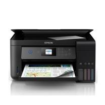 爱普生 EPSON A4全新墨仓式彩色多功能一体机 L4168 (打印、复印、扫描)