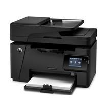 惠普 HP A4黑白激光多功能一体机 LaserJet Pro MFP M128fw (打印、复印、扫描、传真)