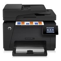 惠普 HP A4彩色激光多功能一体机 LaserJet Pro MFP M177fw (打印、复印、扫描、传真)