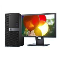 戴尔 DELL 台式电脑套机 OptiPlex 3046 MB00367 24英寸(E2417H) i3-6100 4G 1TB DVDRW 集显 无系统 五年上门 (BAT)