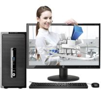 惠普 HP 台式电脑 HP ProDesk 480 G3 MT Business PC-F9023200056 21.5英寸(V223)i5-65004G 1T DVDRW 集显 三年上门  (BAT)
