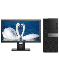 戴尔 DELL 台式电脑套机 OptiPlex 7040MT E2216HV 21.5寸 i5-6500 4G 1T 1G独显 DVDRW 无系统