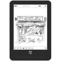 国文当当阅读器 OBOOK86H 6.8英寸 16G WIFI 教育E本通 (黑)