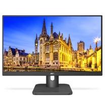 AOC 液晶显示器 24E1H 23.8英寸 16:9 IPS D-Sub HDMI 三年上门 (黑色)