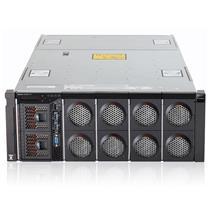 """联想 lenovo 机架式服务器 X3850X6 4U E7-4820v2*2 16G*4 2.5""""SAS热插拔硬盘槽位*8 M5210 900W*2 3年保修"""