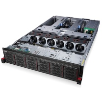 "联想 lenovo 服务器 ThinkServer RD650 1*E5-2609v4 8 DDR4*2 6x3.5""盘位 1T SATA*6 板载R110i Raid 0,1 (黑色) 550W 无系统 键鼠 三年上门(BAT)"
