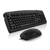 双飞燕 A4TECH 有线键鼠套装 KB-8620F (黑色)