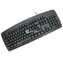双飞燕 A4TECH 有线键盘 KB-8 (黑色) USB