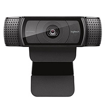 罗技 Logitech 高清网络摄像头 Pro C920 (黑色)