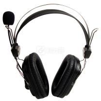 双飞燕 A4TECH 耳机 HS-50 (黑色)