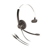 缤特力 plantronics 直连电脑降噪单耳耳机 SP11-PC 3.5MM直连电脑 兼容亚美亚/思科/华为等多种软件系统