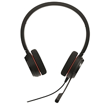 捷波朗 Jabra 统一通信耳麦 EVOLVE 20 MS Stereo 双耳 USB接口  可调音量/闭音/挂接/降噪 微软认证
