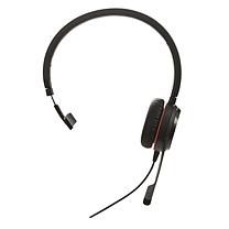 捷波朗 Jabra 统一通信耳麦 EVOLVE 30II MS Mono 单耳 USB+3.5mm接口 可调音量/闭音/挂接/降噪 智能切换 微软认证