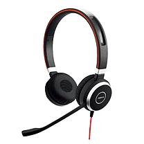 捷波朗 Jabra 头戴式有线耳麦 Evolve 40 MICROSOFT LYNC STEREO