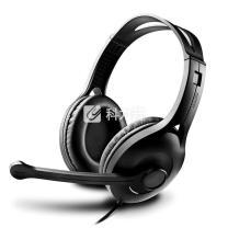 漫步者 EDIFIER 头戴式耳麦 K800 (黑色) 双3.5音频