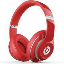 Beats 头戴式耳机 Studio Wireless (红色) 录音师蓝牙无线版 Hi-Fi 降噪 带麦