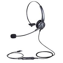 北恩 HION 呼叫中心客服耳机 FOR630  水晶头插口