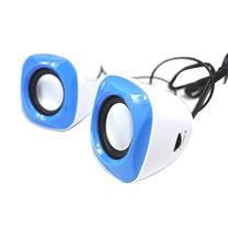 元声 YS 音箱 多媒体便携式迷你小喇叭 USB接口 YS-003 (蓝色)