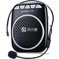 十度 ShiDu 数码扩音器 有线小蜜蜂 S308 (经典黑) 插卡扩音双功能 AB复读功能