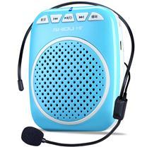十度 ShiDu 数码扩音器 有线小蜜蜂 S308 (天空蓝) 插卡扩音双功能 AB复读功能