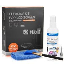 宜客莱 ECOL'A 超强双倍效能电脑清洁套装 CD-EL135 (清洁液100ML+清洁布+清洁刷+镜头湿巾)