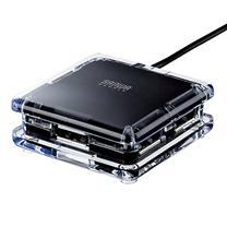 山业 SANWA USB集线器 USB-HUB239BK (黑色)