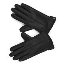 MASCOMMA 全触屏羊皮手套 CA00601/B 女款S (黑色)