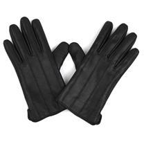 MASCOMMA 全触屏羊皮手套 CA00201/B 男款M (黑色)