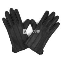 MASCOMMA 全触屏羊皮手套 CA00301/B 男款S (黑色)