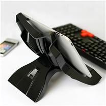 安尚 actto 平板电脑支架 NBS-08 (黑色) iPad健康托架/散热器
