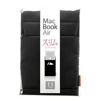 山业 SANWA 内胆包 IN-AMAC11BK 11英寸 (黑色) (适用于MacBook Air)