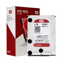 西部数据 WD 台式机硬盘 WD40EFRX 4TB 红盘 SATA6Gb/s 64M