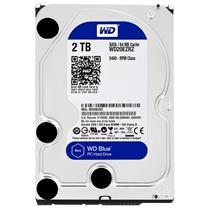 西部数据 WD 台式机硬盘 WD20EZRZ 2TB 蓝盘 SATA6Gb/s 64M