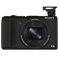 索尼 SONY 数码相机 HX60  (普通相机包 64G卡 电池 充电器)