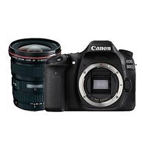 佳能 Canon 数码相机 EOS 80D + EF 17-40mm USM