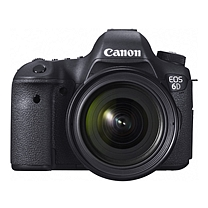 佳能 Canon 数码相机 EOS 6D+EF 24-70mm f4L IS USM