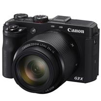 佳能 Canon 数码相机 PowerShot G3X (2020万有效像素 DIGIC6处理器 24-600mm变焦 IS光学防抖)