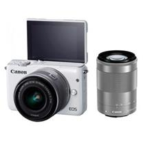 佳能 Canon 微单双头套机 EOSM10 (EF-M15-45mm)(EF-M55-200mm) (16G 包)
