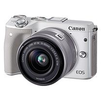 佳能 Canon 微单相机 EOS M3 (EF-M 15-45mm)  (含相机包和滤镜)