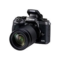 佳能 Canon 微型单电套机 EOS M5 (黑) (EF-M 18-150mm f/3.5-6.3 IS STM)