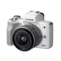 佳能 Canon 微单 EOS M50 15-45镜头白色套机 DIGIC 8处理器 2410万像素 全像素双核对焦 旋转触控LCD