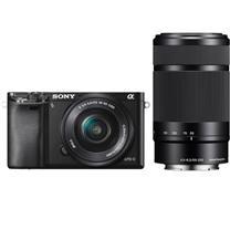 索尼 SONY 微单套机 ILCE-6000L (16-50/55-210双镜头) (16G卡 相机包)