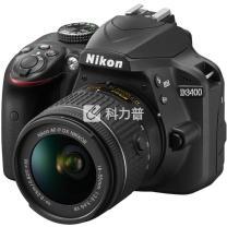 尼康 Nikon 单反套机 D3400 (AF-P DX 尼克尔 18-55mm f/3.5-5.6G VR) (32G卡 包)