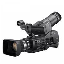 索尼 SONY 专业摄像机 NEX-EA50CH (含灯具 mt-600 柔光箱 灯架 反光伞 闪光灯)