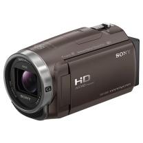 索尼 SONY 高清数码摄像机 HDR-CX680 VPR1三脚架+摄像包+64G卡 (黑色)