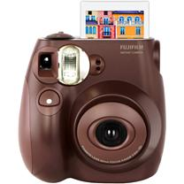 富士 FUJIFILM 拍立得相机 instax mini7S (咖啡色)