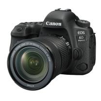 佳能 Canon 单反套机 EOS 6D Mark II EF 24-105mm f/3.5-5.6 IS STM E6N电池,闪迪32G+包,E6E充电器和电源线,肩带