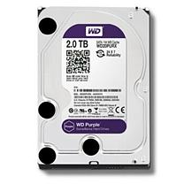 西部数据 WD 台式机硬盘 WD20PURX 2TB 紫盘 SATA6Gb/s 64M 监控